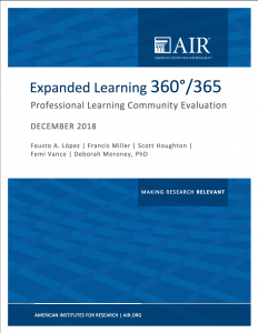 Expanded Learning brief cover