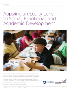 Equity Lens to SEAD Report