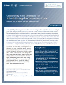 Community Care Brief