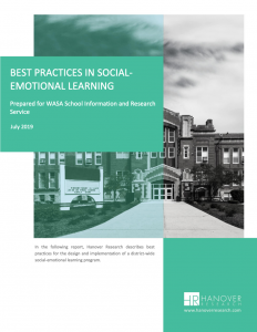 Best Practices in SEL report cover