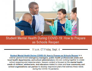 Student Mental Health During COVID-19