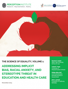 Science of Equity Vol. 1 report cover