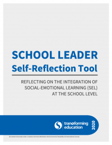 School Leader Self-Reflection Tool