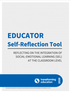 Educator Self-Reflection Tool