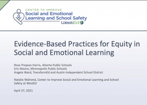 Evidence-Based Practices for Equity in SEL