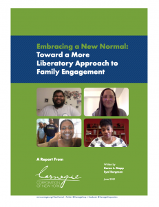 Equitable Family Engagement Report