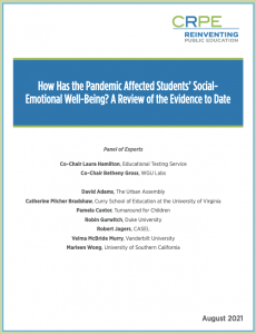 Report on COVID's Effect on Student Wellbeing